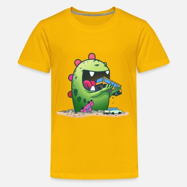 Collection For Kids Cute Monster - Kids' Premium T-Shirt