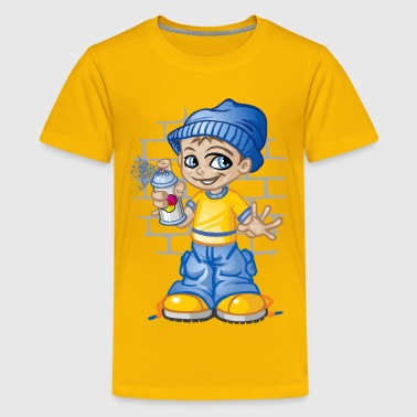 Graffitis kid - Kids' Premium T-Shirt