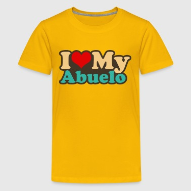 i love my abuelo - Kids' Premium T-Shirt