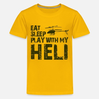 Shop Helicopter T-Shirts online | Spreadshirt