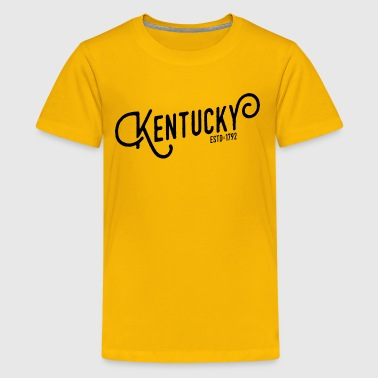 Kentucky Script - Kids' Premium T-Shirt