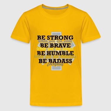 Gifts for EMT EMS Brave Proud Humble Heroes - Kids' Premium T-Shirt