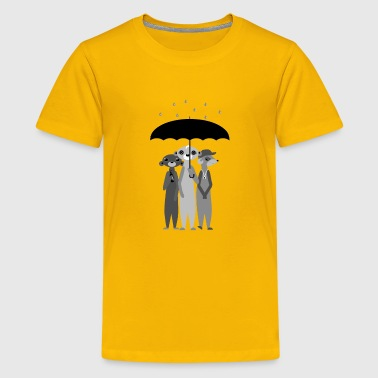 Jimmy Lee, Billy & Bob. Meerkats - Kids' Premium T-Shirt