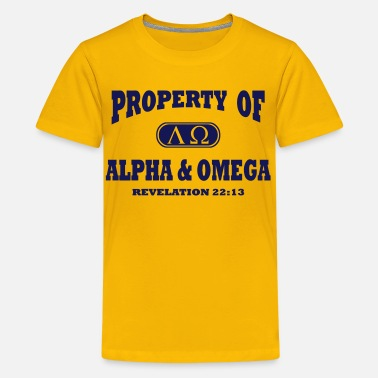 Omega Alpha and Omega - Kids' Premium T-Shirt