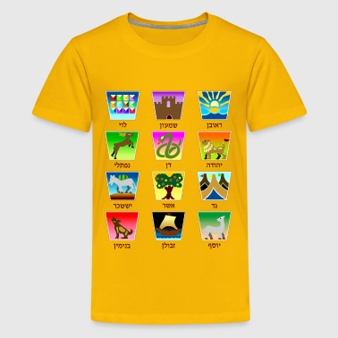 Mandrake 12 Tribes of Israel - Kids' Premium T-Shirt