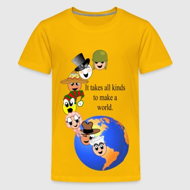 makeaworld - Kids' Premium T-Shirt