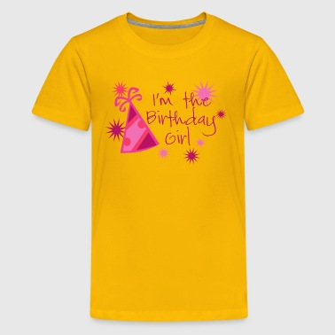 I'm The Birthday Girl - Kids' Premium T-Shirt