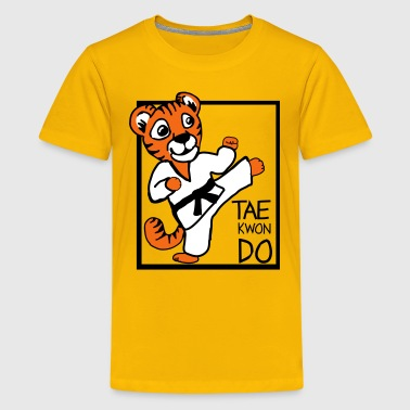 TKD Little Tiger - Kids' Premium T-Shirt