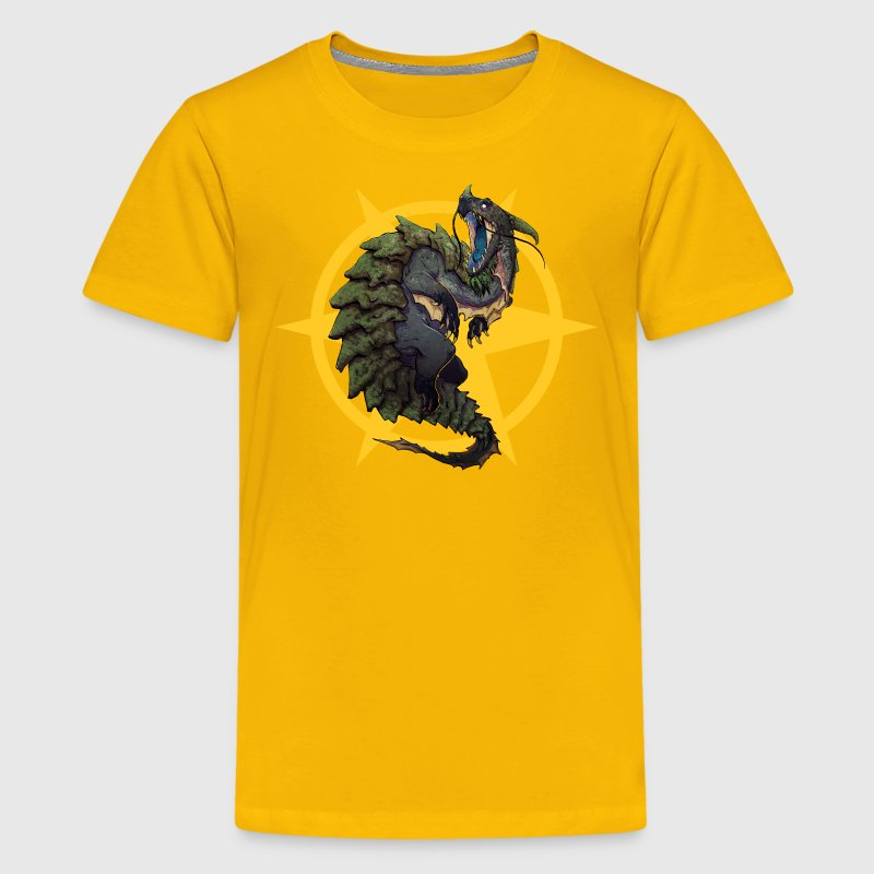 Urlock the Dragon Turtle Kid's T - Kids' Premium T-Shirt