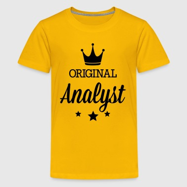 Original analyst - Kids' Premium T-Shirt