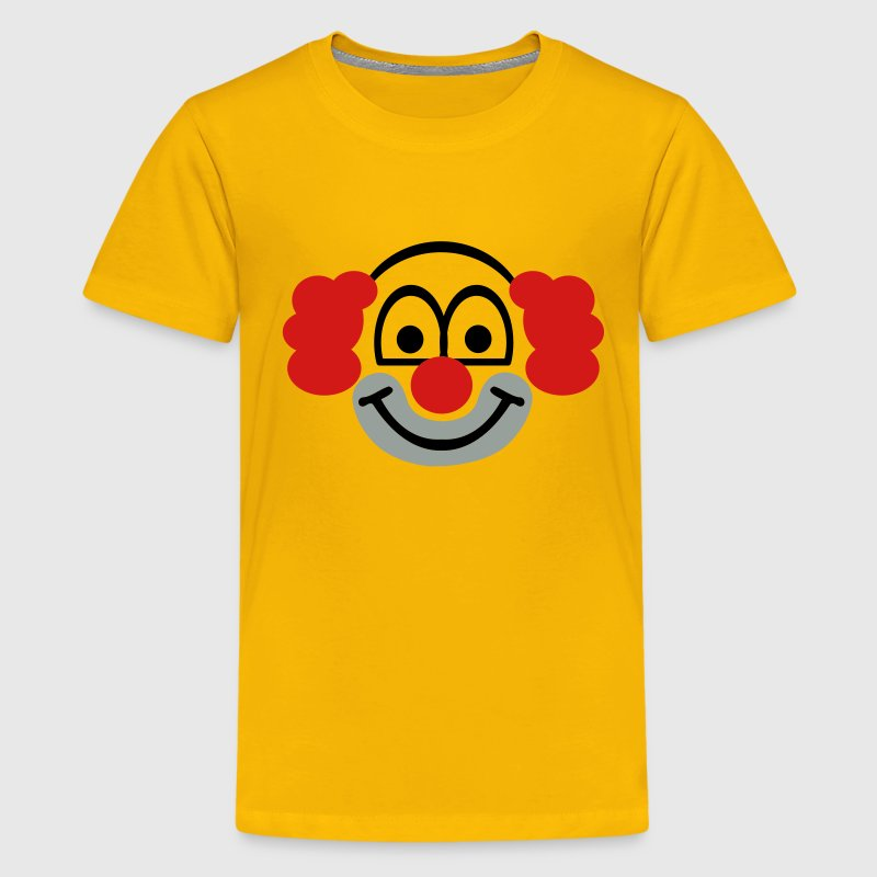 Clown face - Kids' Premium T-Shirt