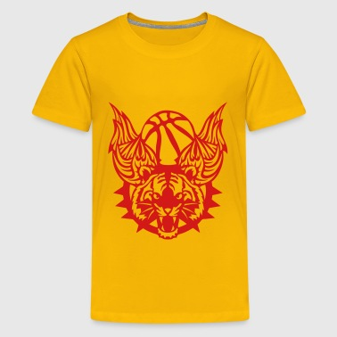 tiger wing basketball sports club logo 1 - Kids' Premium T-Shirt
