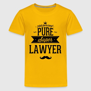 100 percent pure super lawyer - Kids' Premium T-Shirt