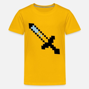 Craft Minecraft SWORD - Kids' Premium T-Shirt