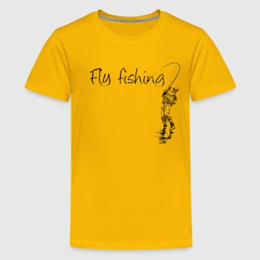 Fiske fisher - Kids' Premium T-Shirt