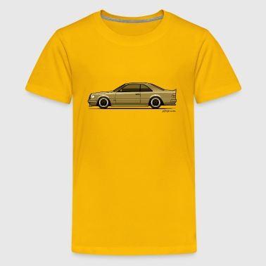 MB C124 300CE AMG Ghost - Kids' Premium T-Shirt
