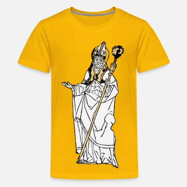 Catholic Simple Old Pope - Kids' Premium T-Shirt