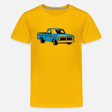 Old School Trucks old school pickup - Kids' Premium T-Shirt