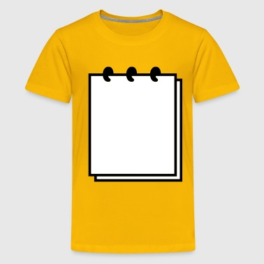 Writable Notebook (use writable flex) - Kids' Premium T-Shirt
