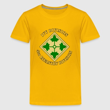 4th Infantry Division - Kids' Premium T-Shirt