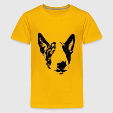 English Bull Terrier Face - Kids' Premium T-Shirt