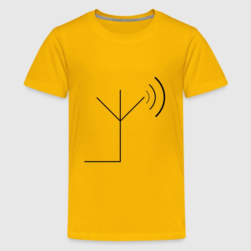 transmitting antenna symbol - Kids' Premium T-Shirt