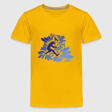 Scooter Freestyle scooter - Kids' Premium T-Shirt