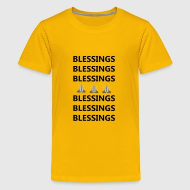 Blessings on Blessings - Kids' Premium T-Shirt