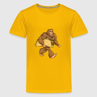 BIGFOOT TACO LOVE - Kids' Premium T-Shirt