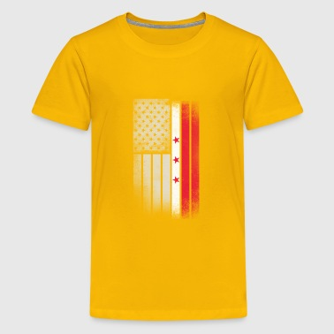 District of Columbia Flag - Kids' Premium T-Shirt