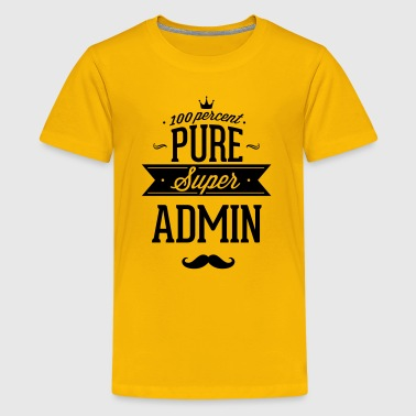 100 percent pure super admin - Kids' Premium T-Shirt