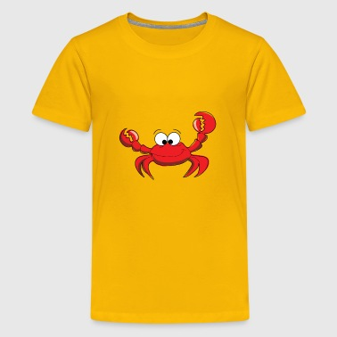 Cartoon Crab - Kids' Premium T-Shirt