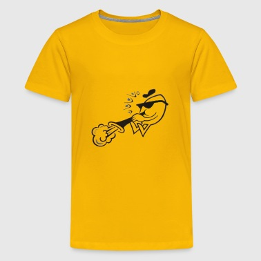 Trumpet player - Kids' Premium T-Shirt