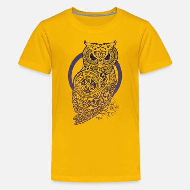 Celtic Owls CELTIC OWL - Kids' Premium T-Shirt