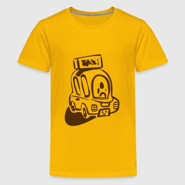Taxi Scooter - Kids' Premium T-Shirt