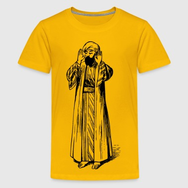 Moslem Moslem in prayer 1 - Kids' Premium T-Shirt