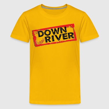 Down River - Kids' Premium T-Shirt