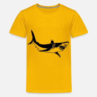 Scammer The Great White shark - Kids' Premium T-Shirt