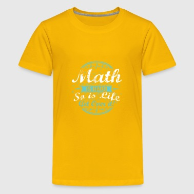 Math Lover Gift Math Is Hard So Is Life - Kids' Premium T-Shirt