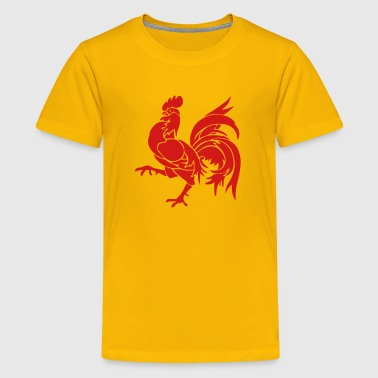 Wallon Rooster - Kids' Premium T-Shirt