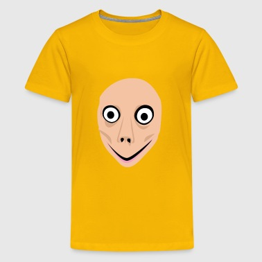 momo face creepy creepypasta - Kids' Premium T-Shirt