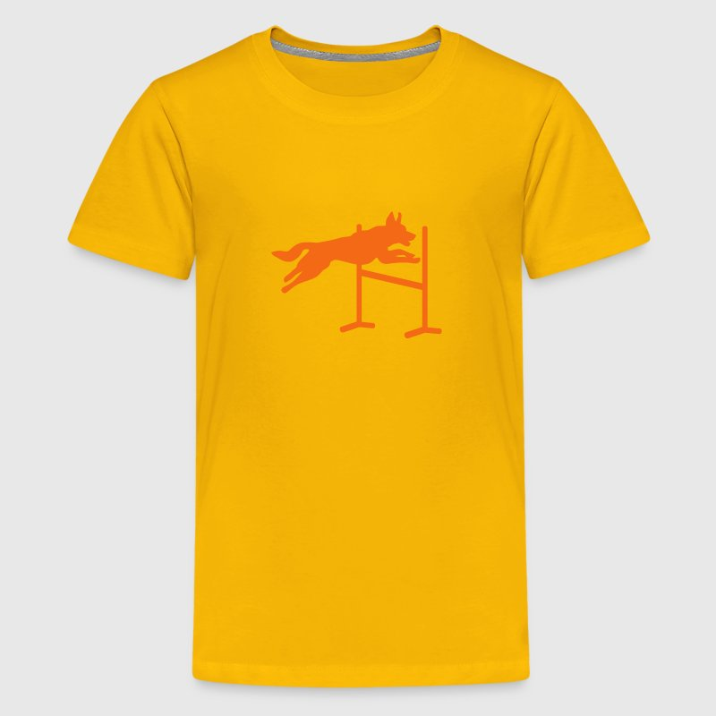 Dog agility - Kids' Premium T-Shirt