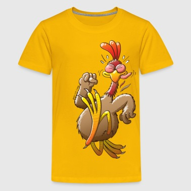 Chicken Running - Kids' Premium T-Shirt