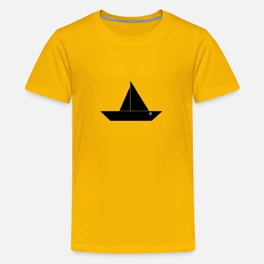 Boating Boat - Kids' Premium T-Shirt