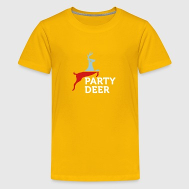 Political Party Political Party Animals: Reindeer - Kids' Premium T-Shirt