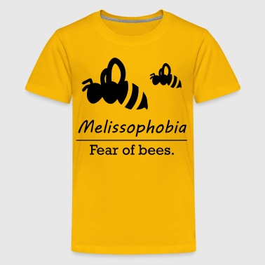 Melissophobia - Fear of bees. - Kids' Premium T-Shirt