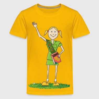Girl Scout - Kids' Premium T-Shirt