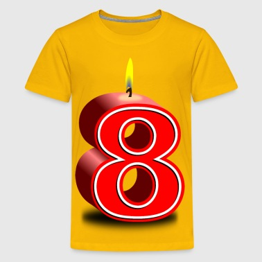 birthday candle  - Kids' Premium T-Shirt