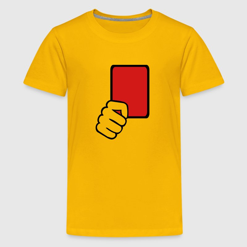 Red card Referee - Kids' Premium T-Shirt