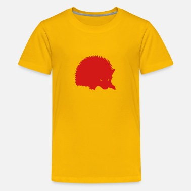 Shadow The Hedgehog silhouette hedgehog shadow 1 - Kids' Premium T-Shirt